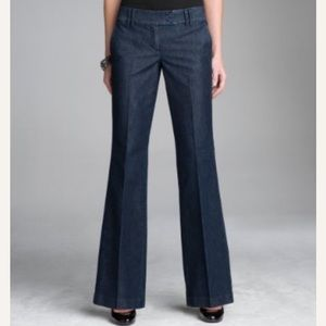 Express Denim Editor Flare Low Rise Jeans, Size 8R